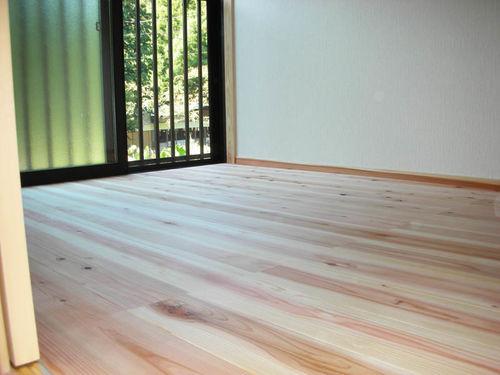 太田川の森林材 杉材を利用したリフォーム