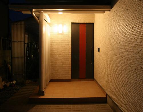 「玄関引戸」へのリフォーム