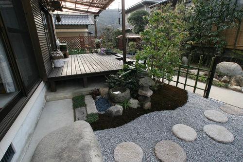 坪庭の作成