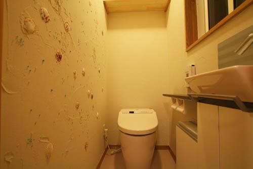 オリジナルなトイレ空間