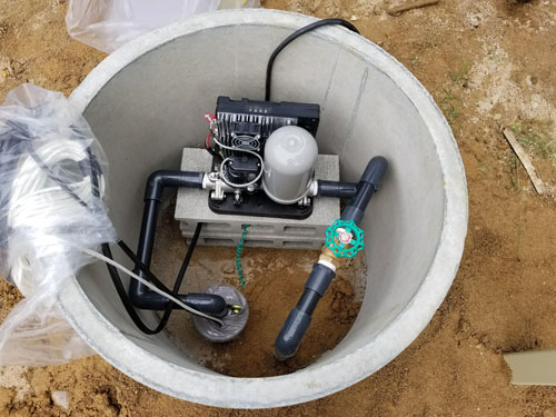 北広島町で井戸工事です