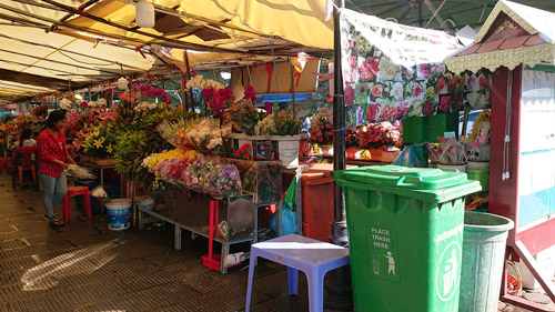 花のマーケット