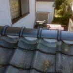 セメント瓦の棟のやり替え