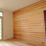 杉板の空間