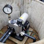 深井戸ポンプの交換