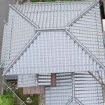 屋根のドローン点検