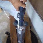 井戸の水中ポンプの交換