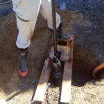 井戸用水中ポンプの交換
