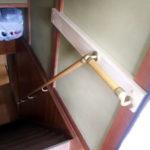 階段手すりの設置
