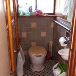 汲み取りのトイレ