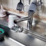 台所蛇口の交換