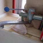 昔のシングルレバー水栓