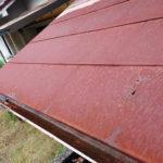 玄関屋根の雨漏り
