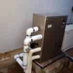 石油給湯器の取り換え